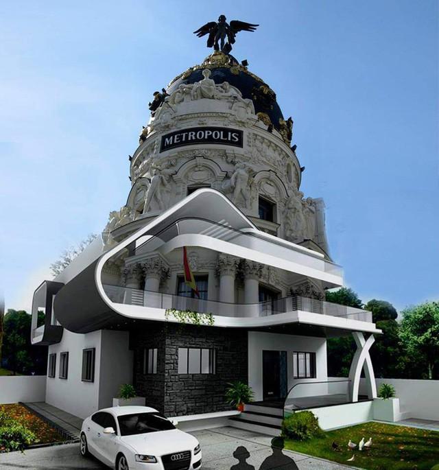 Thuê kiến trúc sư thiết kế nhà vừa cổ điển lại vừa hiện đại, chủ nhà hú hồn khi nhận bản vẽ - Ảnh 2.