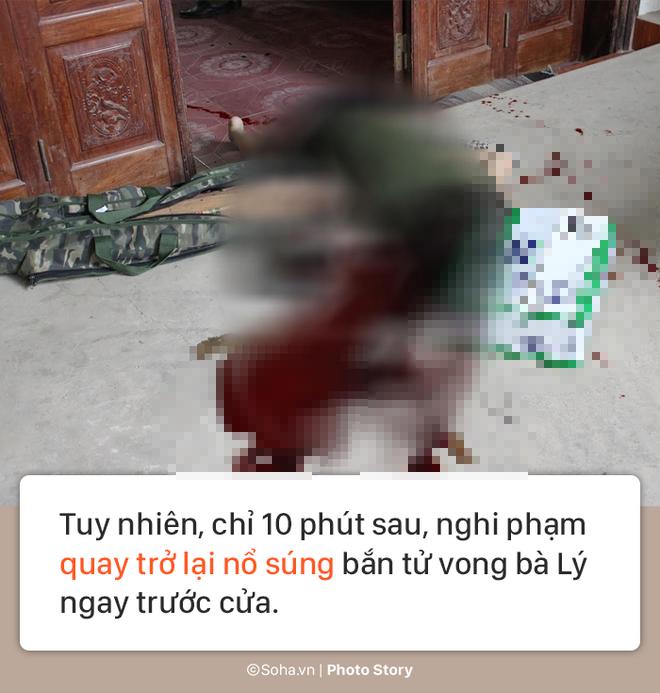 [PHOTO STORY] Hiện trường vụ hung thủ dùng súng CKC bắn chết vợ chồng giám đốc ở Điện Biên - Ảnh 5.