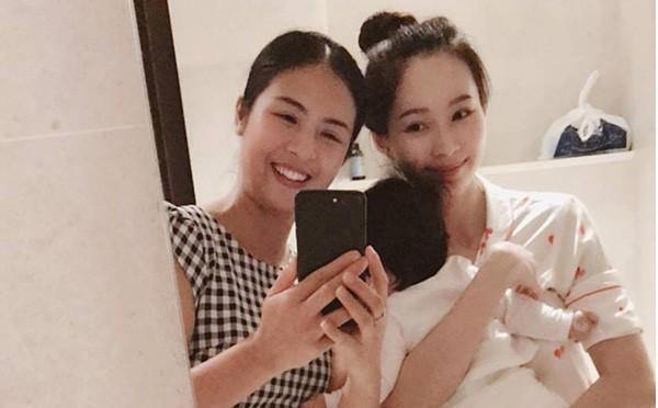 Hoa hậu Ngọc Hân đến thăm, công khai ảnh Đặng Thu Thảo