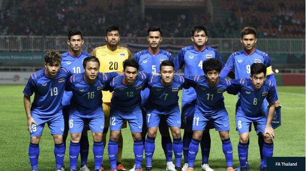 """""""Chết đứng"""" vì sai lầm tai hại, U23 Thái Lan vấp nguy cơ bị loại ngay từ vòng bảng - Ảnh 1."""