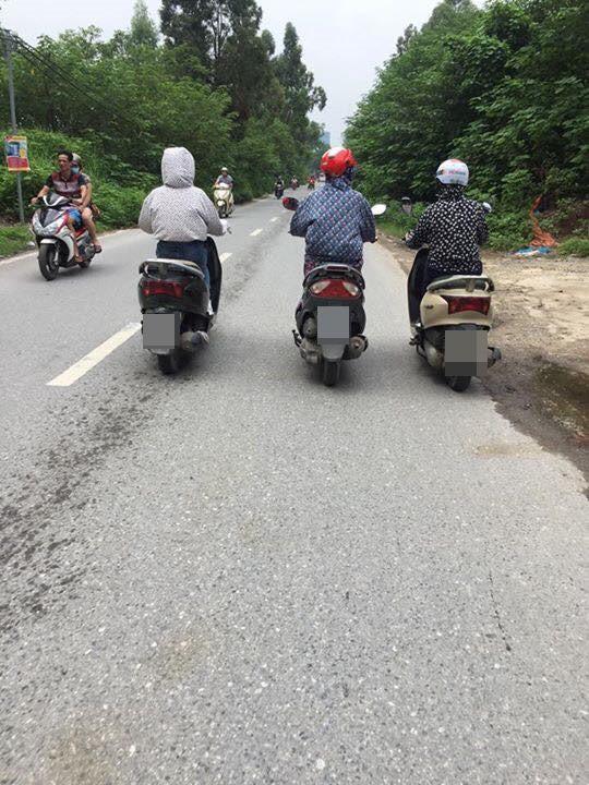 Hình ảnh ba chị gái Ninja và cách đi trên đường khiến tất cả đều ngán ngẩm - ảnh 1