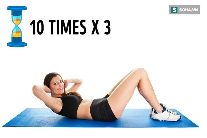 Xấu hổ vì bụng tích đầy mỡ: Đừng bỏ qua bài tập đánh tan mỡ bụng hiệu quả ngay tại nhà - Ảnh 1.