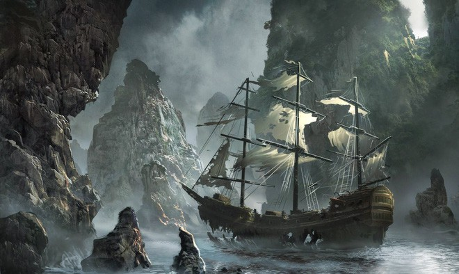 Câu chuyện kì bí về con tàu ma Octavius: Thuyền trưởng chết cóng trên ghế ngồi, tay vẫn còn cầm bút viết - Ảnh 1.