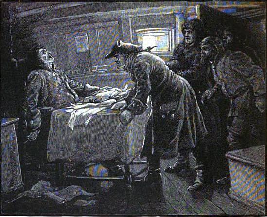 Câu chuyện kì bí về con tàu ma Octavius: Thuyền trưởng chết cóng trên ghế ngồi, tay vẫn còn cầm bút viết - Ảnh 2.