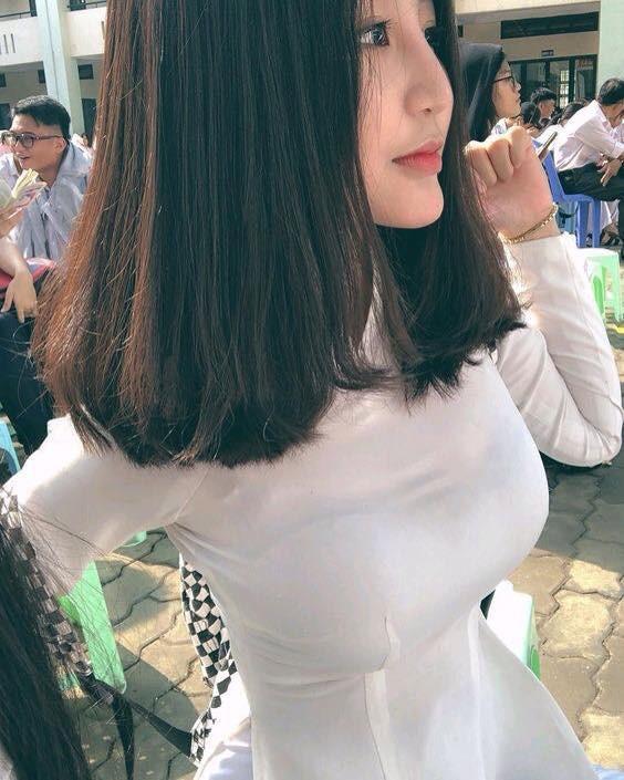 Mùa nhập học - mùa rụng tim vì ngắm ảnh nữ sinh Việt tinh khôi trong tà áo dài - Ảnh 9.