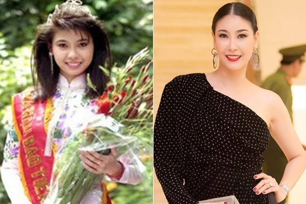 Nhan sắc ngày ấy - bây giờ của 14 Hoa hậu Việt Nam: Mỗi người một vẻ nhưng đều lên hương - Ảnh 3.