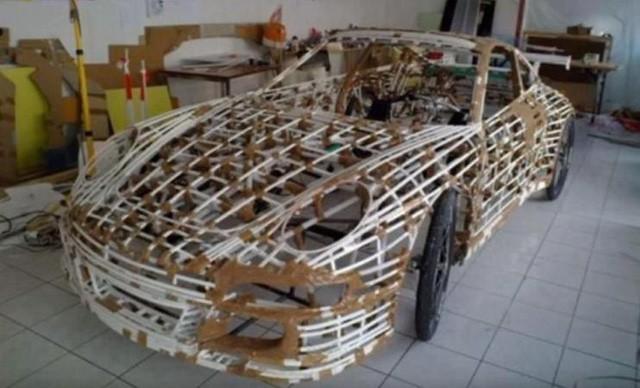 Nhìn qua cứ tưởng siêu xe Porsche 911 sang chảnh, nhưng sự thật lại là xe đạp trá hình - Ảnh 4.