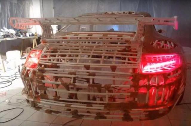Nhìn qua cứ tưởng siêu xe Porsche 911 sang chảnh, nhưng sự thật lại là xe đạp trá hình - Ảnh 5.