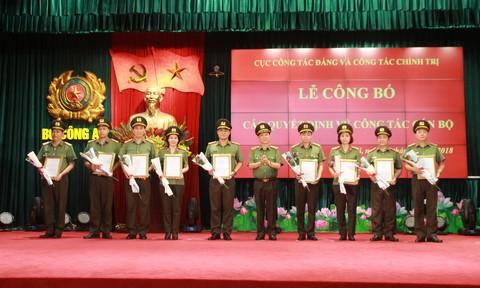 Cục Công tác Đảng và Công tác Chính trị công bố các quyết định cán bộ - Ảnh 3.