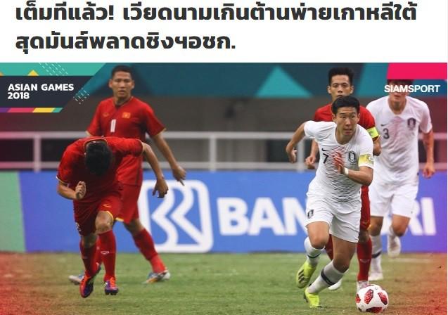 """Trong niềm cảm thông, báo Thái Lan nói về """"giấc mơ cuối cùng"""" của U23 Việt Nam - Ảnh 1."""