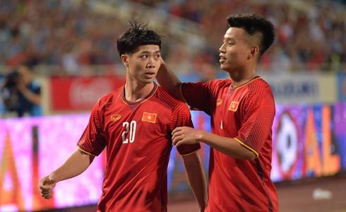 Kết thúc: Tấn công mãn nhãn, U23 Việt Nam thắng thuyết phục U23 Palestine - Ảnh 4.