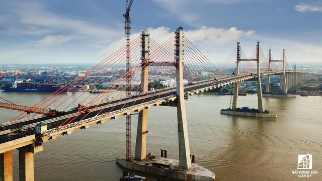 Một ngày trước khi thông xe, nhìn toàn cảnh cao tốc Hạ Long - Hải Phòng và cầu Bạch Đằng gần 15 nghìn tỷ từ trên cao - Ảnh 15.