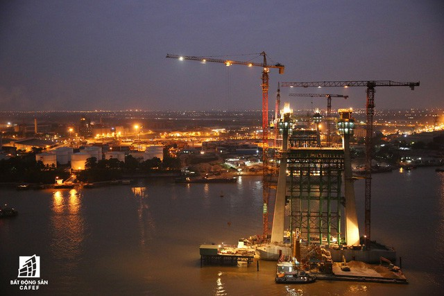 Một ngày trước khi thông xe, nhìn toàn cảnh cao tốc Hạ Long - Hải Phòng và cầu Bạch Đằng gần 15 nghìn tỷ từ trên cao - Ảnh 4.
