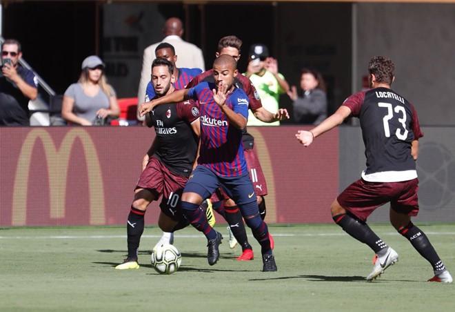 """Barcelona gục ngã đúng phút 90+3 theo kịch bản """"điên rồ"""" - Ảnh 2."""