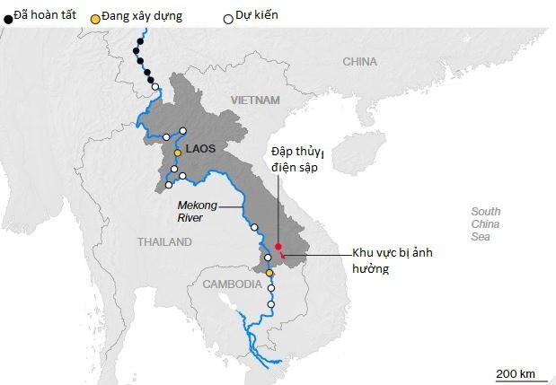 Trung Quốc đang âm thầm thôn tính Mekong bằng cả cây gậy và củ cà rốt - Ảnh 1.