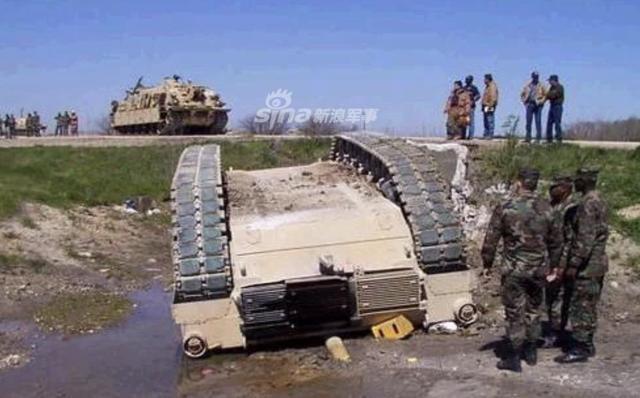 [ẢNH] Những sự cố hy hữu xảy ra với xe tăng chiến đấu chủ lực - ảnh 4