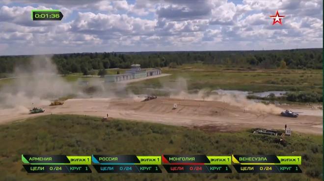 Nga có cú bứt phá thần thánh ở bán kết Tank Biathlon 2018: Nghi ăn gian, xấu mặt? - Ảnh 3.