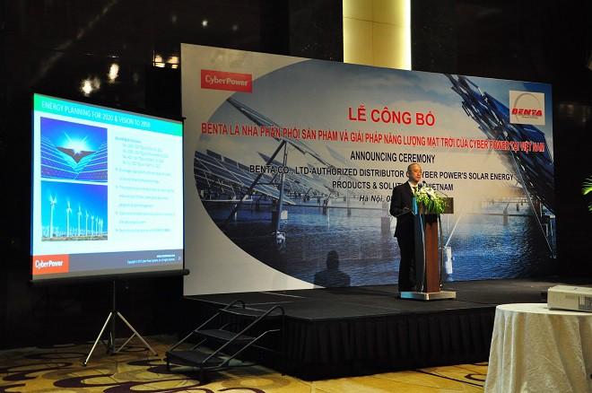 Lộ diện nhà phân phối chính thức sản phẩm và giải pháp Năng lượng mặt trời của CyberPower tại Việt Nam - Ảnh 3.