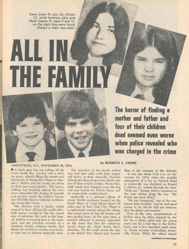 Thảm kịch con trai cả giết 6 mạng người nhà trong đêm biến Amityville trở thành ngôi nhà ma nổi tiếng nhất thế giới - Ảnh 5.