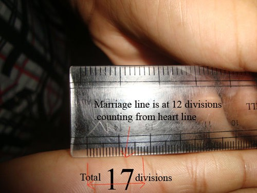 Nhìn đường chỉ tay tình duyên đoán ngay độ tuổi kết hôn của một người - Ảnh 6.