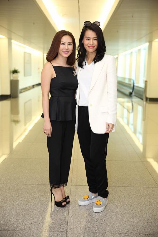 Hoa hậu Thu Hoài thích thú được sao đình đám TVB tặng hàng hiệu hơn 100 triệu đồng - Ảnh 1.