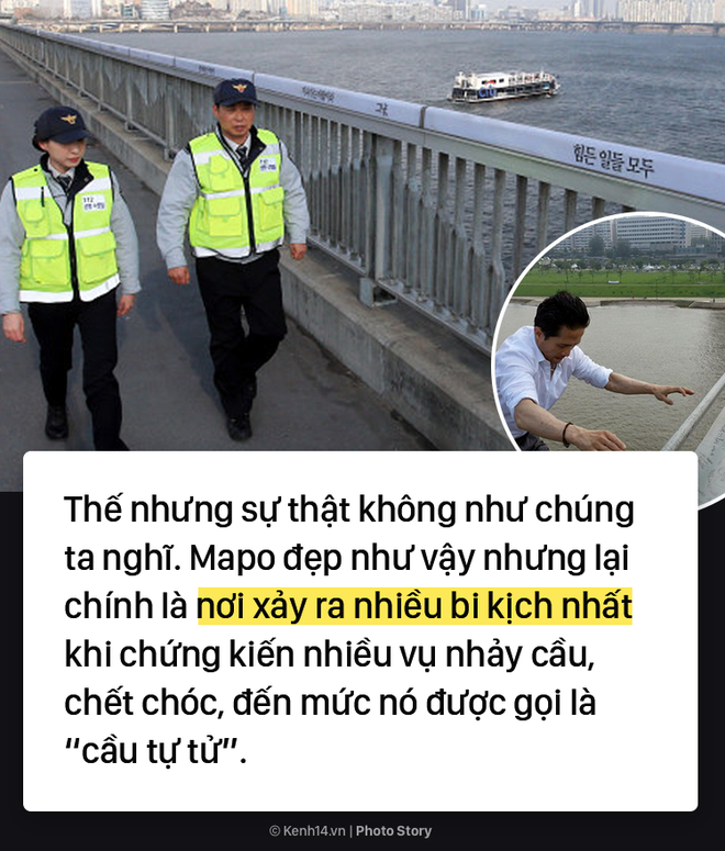 Cây cầu lãng mạn trong phim ở Hàn Quốc lại là nơi có tỷ lệ nhảy sông cao nhất ở đất nước này - Ảnh 3.
