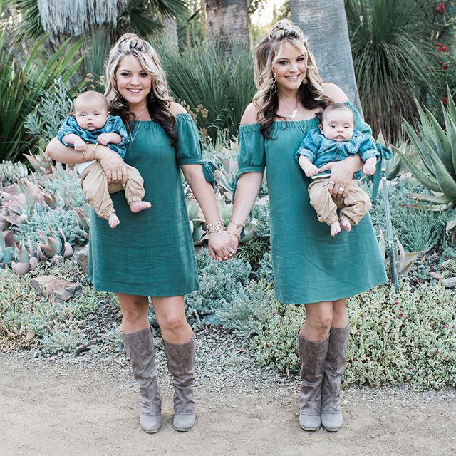 Hai chị em sinh đôi mang bầu rồi sinh con cùng 1 ngày tại cùng 1 bệnh viện, nhìn khuôn mặt 2 đứa trẻ mọi người lại càng ngạc nhiên - Ảnh 7.