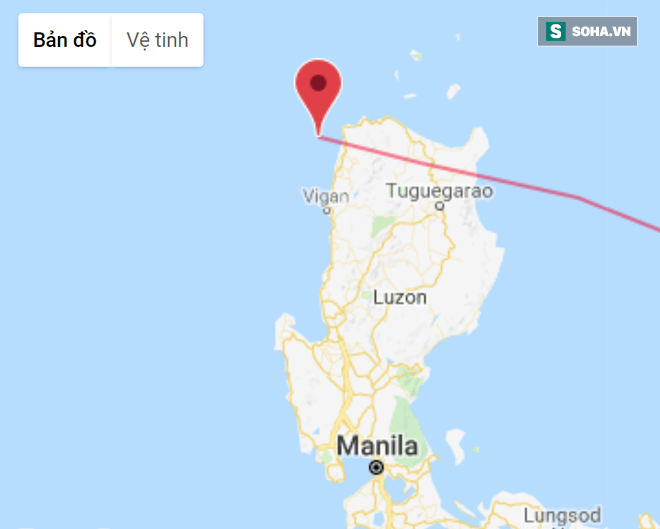 Siêu bão Mangkhut vừa qua Luzon vào Biển Đông: Ven Quảng Ninh rủi ro cấp độ 4 - ảnh 1