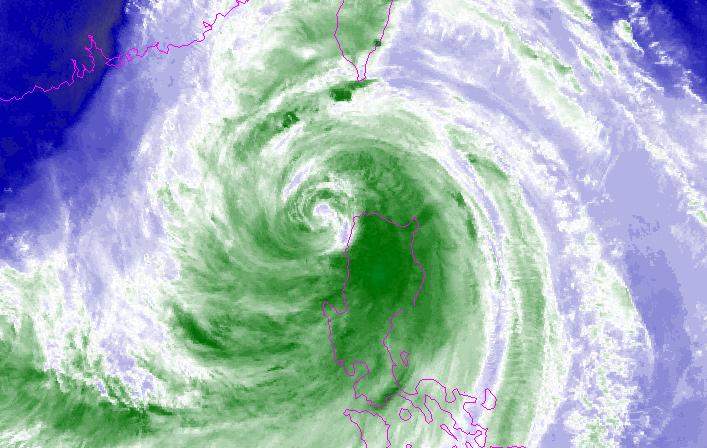 Siêu bão Mangkhut vừa qua Luzon vào Biển Đông: Ven Quảng Ninh rủi ro cấp độ 4 - ảnh 2