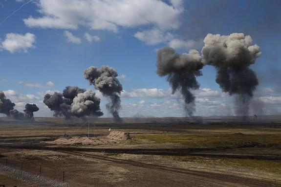 Tập trận Vostok 2018: Cách quân đội Nga hủy diệt mục tiêu trong 40 phút - Ảnh 3.