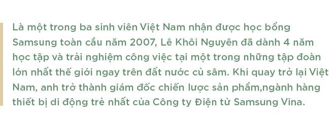 Giải mã những nơi làm việc tốt nhất Việt Nam: Từ hotboy Bách Khoa đến Giám đốc di động trẻ nhất Samsung Việt Nam - Ảnh 1.