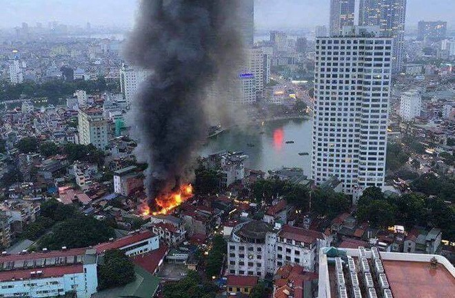 Vụ cháy trên đường Đê La Thành: Nguyên nhân khiến ông Hiệp 'khùng' bị đuổi đánh 2