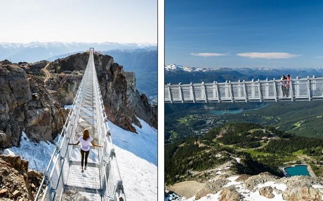 Khám phá                                                          cầu treo vượt                                                          thung lũng cao                                                          nhất Bắc Mỹ -                                                          Ảnh 2.