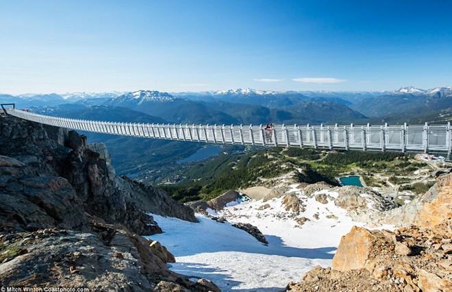 Khám phá                                                          cầu treo vượt                                                          thung lũng cao                                                          nhất Bắc Mỹ -                                                          Ảnh 5.