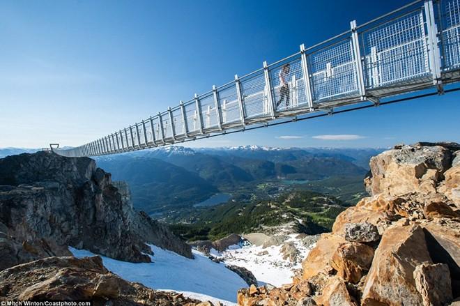Khám phá                                                          cầu treo vượt                                                          thung lũng cao                                                          nhất Bắc Mỹ -                                                          Ảnh 6.
