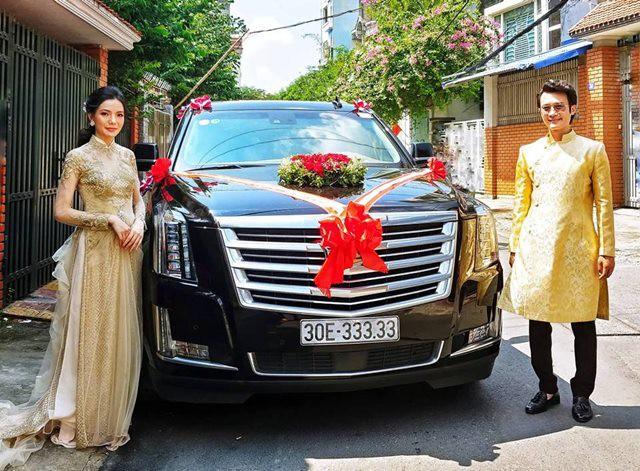 Siêu xe Khủng long Mỹ dẫn đầu đoàn rước dâu hoành tráng ở Quảng Ninh - Ảnh 12.