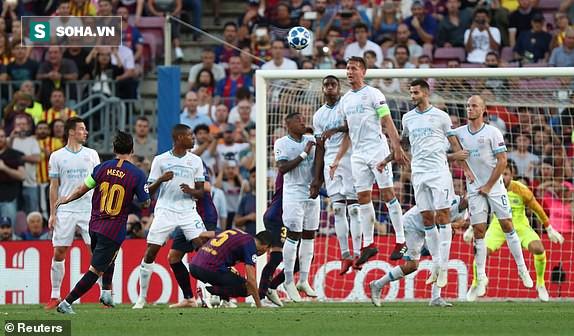 Messi lập siêu phẩm đá phạt, Barcelona giành thắng lợi ngày mở màn Champions League - Ảnh 1.