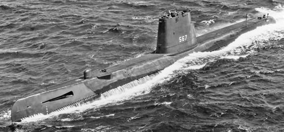 Cuộc chiến bí mật dưới lòng đại dương thời chiến tranh Lạnh