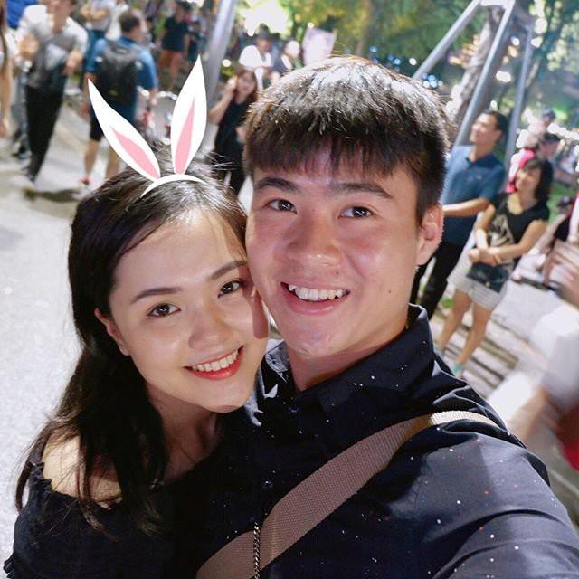 Gia thế ít người biết của bạn gái tiền vệ U23 Việt Nam - Đỗ Duy Mạnh - Ảnh 4.