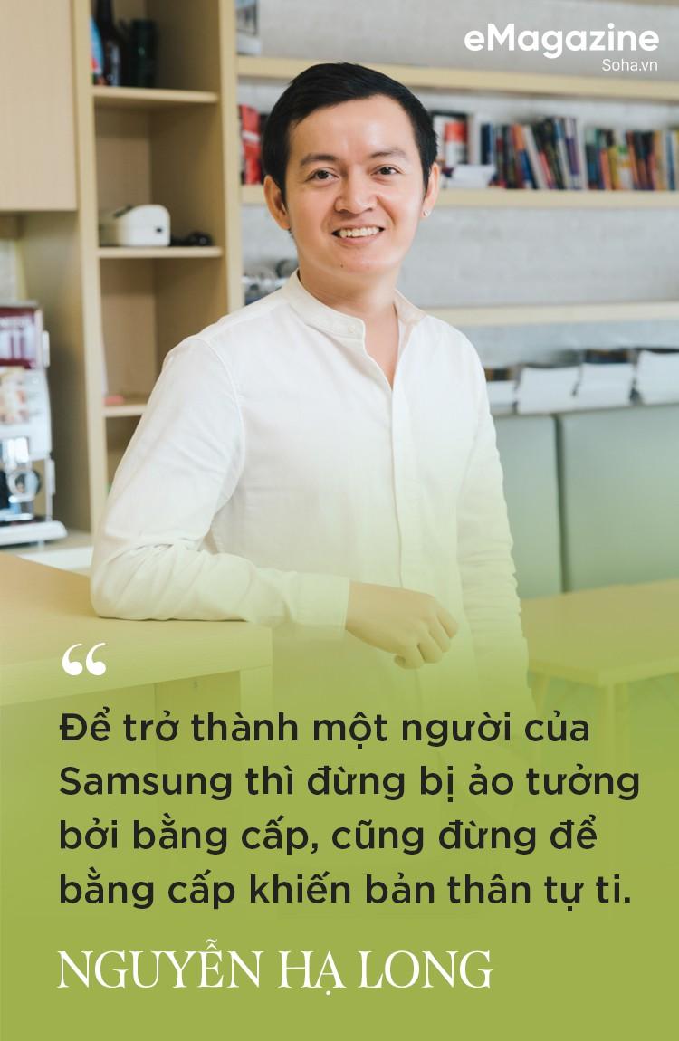 Nguyễn Hạ Long: Từ nhân viên sale đến giám đốc chiến lược sản phẩm, ngành hàng nghe nhìn trẻ nhất của Samsung Vina - Ảnh 4.