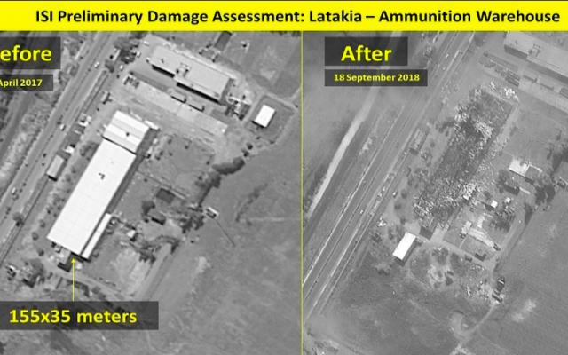 Israel nã tên lửa không kích, kho vũ khí Syria chỉ còn là đống tro tàn - ảnh 1