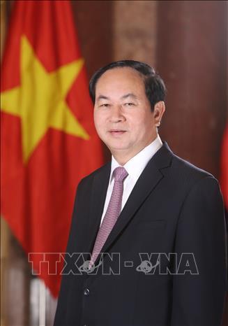 Hình ảnh những ngày làm việc cuối cùng của Chủ tịch nước Trần Đại Quang - Ảnh 1.