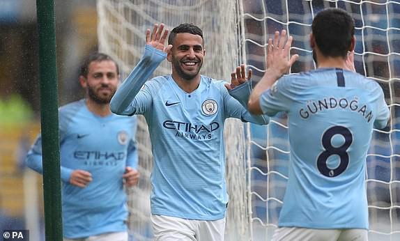 Hẹn nhau trút cơn mưa bàn thắng, Man City và Liverpool chễm chệ trên đỉnh Premier League - Ảnh 4.