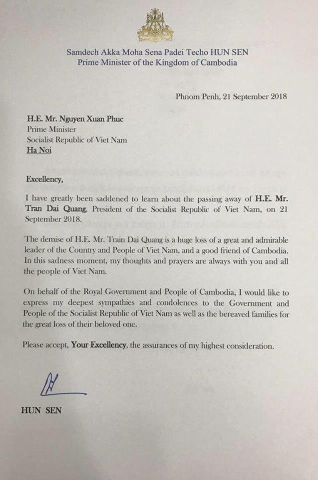 Chủ tịch nước Trần Đại Quang và 5 lần cắt tóc cho đồng đội Hun Sen - Ảnh 1.
