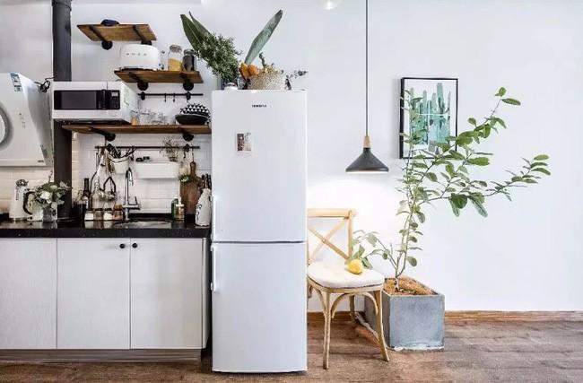 Tích góp suốt 7 năm đi làm, cô gái 30 tuổi độc thân tự mua căn hộ 38m² và biến nó thành không gian sống tuyệt đẹp - Ảnh 3.
