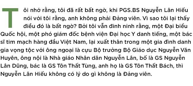 """PGS.BS Nguyễn Lân Hiếu: """"Dù có vào Đảng hay không tôi vẫn cống hiến hết mình cho đất nước"""" - Ảnh 1."""