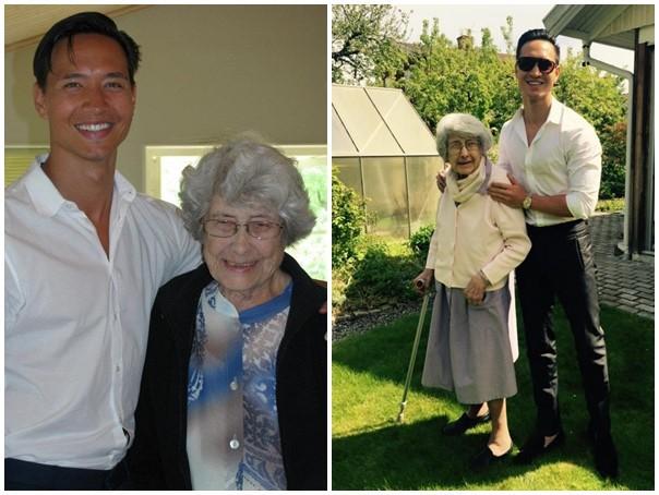 Hà Hồ và bạn bè chia buồn khi hay tin bà ngoại của Kim Lý qua đời tại Thuỵ Điển - Ảnh 3.