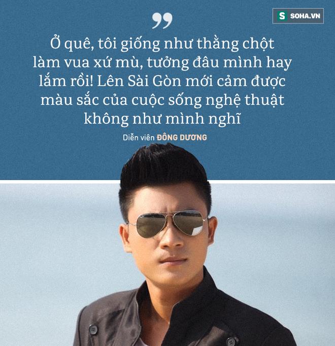 Diễn viên Đông Dương: Từ phim trường về, tôi bị Hoàng Mập, Việt Hương chửi suốt - Ảnh 3.