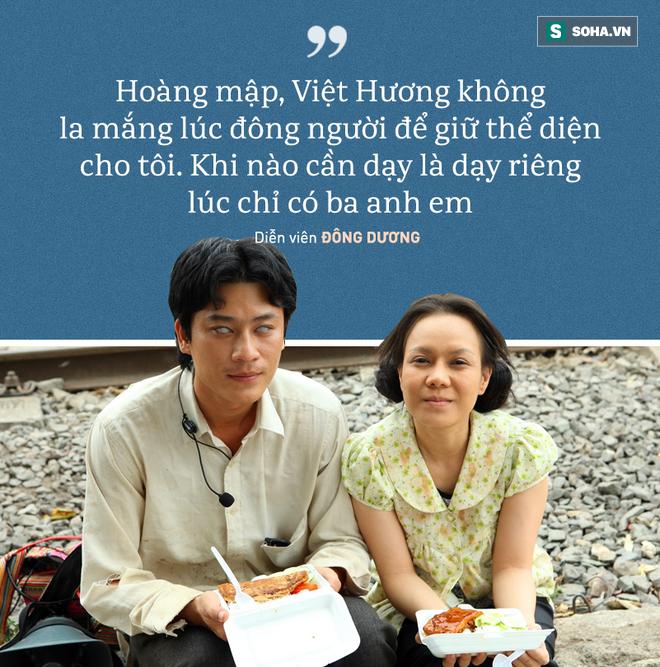 Diễn viên Đông Dương: Từ phim trường về, tôi bị Hoàng Mập, Việt Hương chửi suốt - ảnh 1