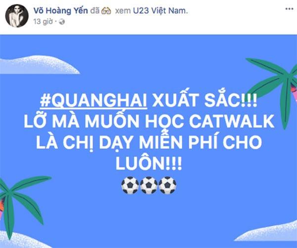 """U23 Việt Nam chiến thắng: MC nóng bỏng nhất VTV òa khóc, Lâm Khánh Chi thưởng """"nóng"""" Bùi Tiến Dũng - Ảnh 4."""